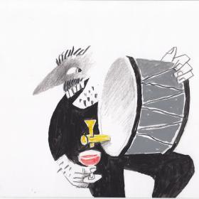 Виното в бита и културата на европейските народи