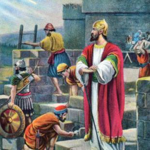 Неемия, бодигардът, който построи отново храма на Бога