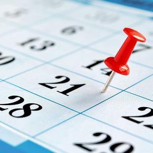 Събития през месец октомври
