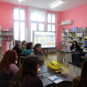 Цветовете, креативността, Хундертвасер и преподаването на немски език