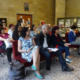 Литературно четене събра писателите на Русе