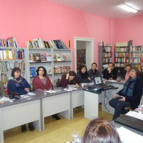 Квалификационен семинар на Гьоте Институт в Библиотеката