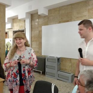 """Поетесата Павлина Стаменова представи """"Дневник на сърцето"""""""